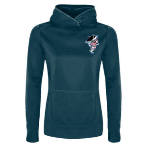 LADIES - ATC™ GAME DAY™ FLEECE HOODED LADIES' SWEATSHIRT (L2005) Thumbnail